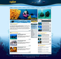 Diving Website by alwinred