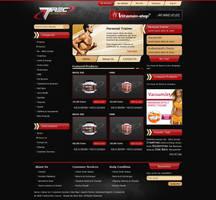 Nutrition Website by alwinred