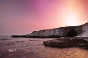 Seashore of Agios Georgios Alamanou, Cyprus by alwinred