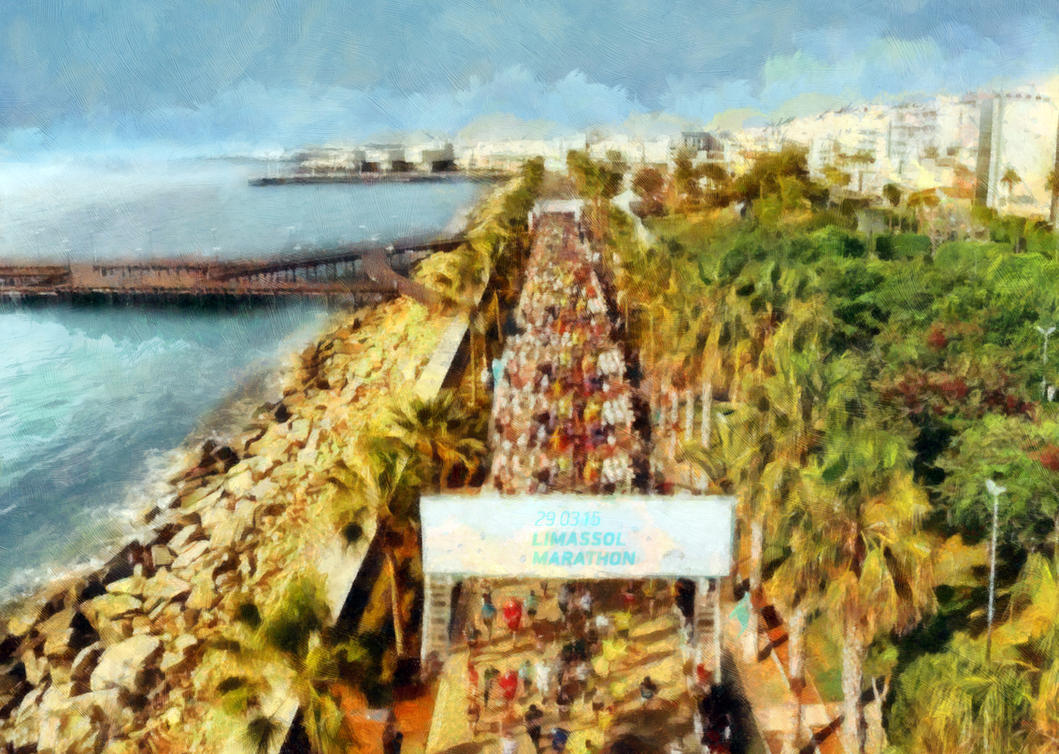 Limassol Marathon - 29 March 2015 by alwinred