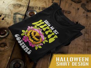 Funny Halloween T-Shirt Design 3