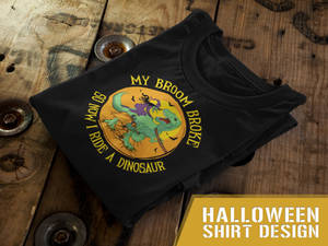 Funny Halloween T-Shirt Design 4