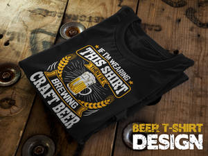 Brewing Craft Beer T-Shirt