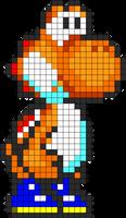 Orange Yoshi Ds
