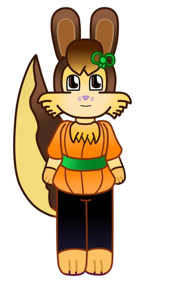 Chibi Victoria the bunny halloween costumes by Vickicutebunny
