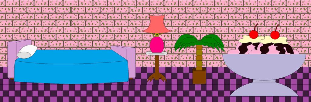 Zina, Dina and Tina bedroom by Vickicutebunny
