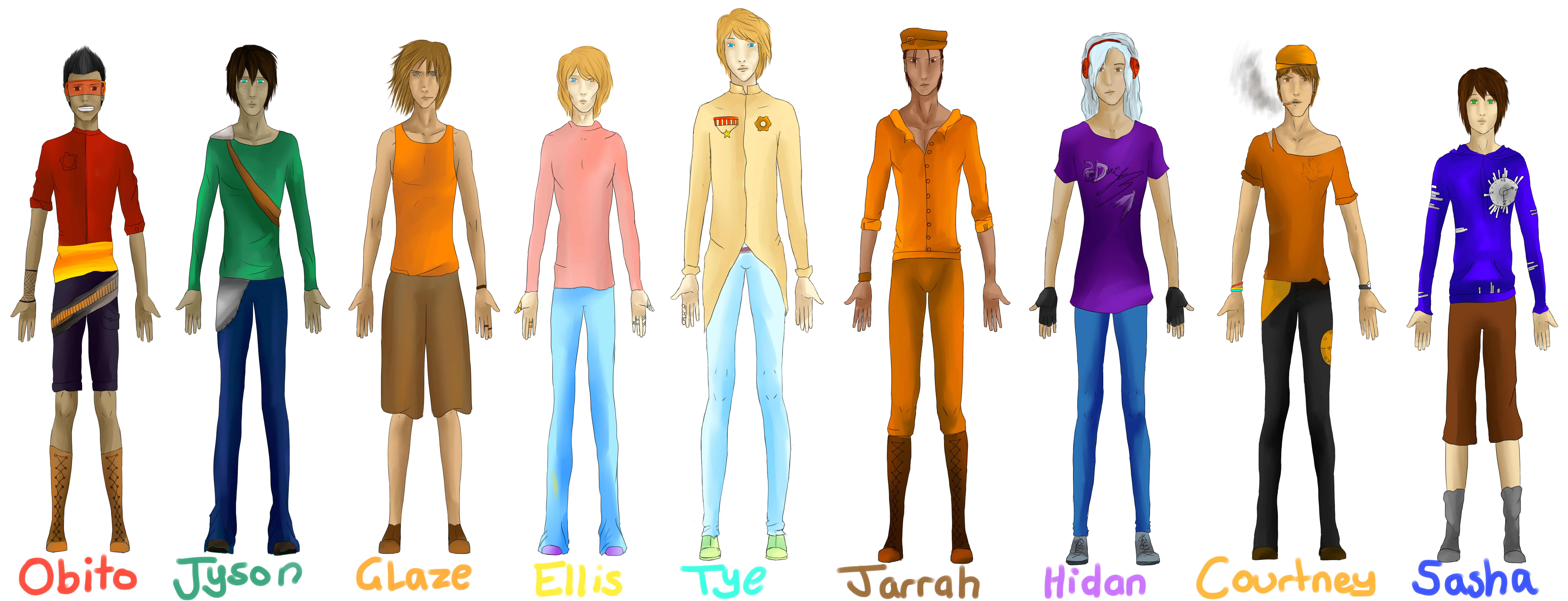 male character reference - photo #27