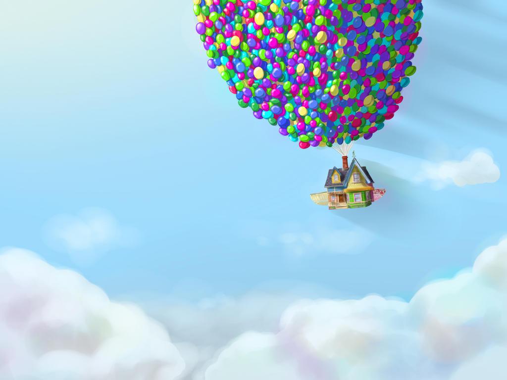 Up house in the sky by sucki artist on deviantart for Housse ballon yoga