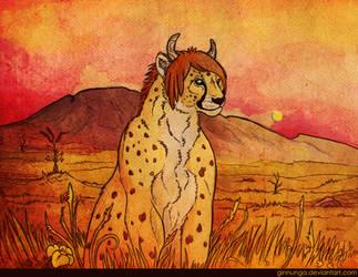 Sunrise on the Serengeti: comm by Ginnunga