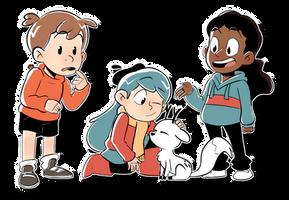 Hilda and friends by Majayrick