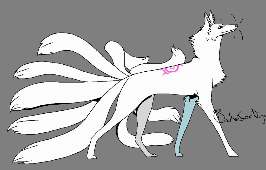 Kani Kitsune Form by kittenAX