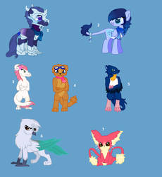 MLP creature Adopt :open: by kittenAX