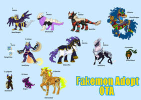 Fakemon Adopt OTA :open: by kittenAX