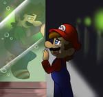 Luigi...dont go..