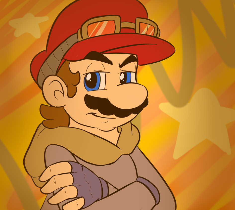 Cool mario by raygirl12