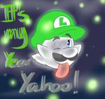 Year Of Boo Luigi