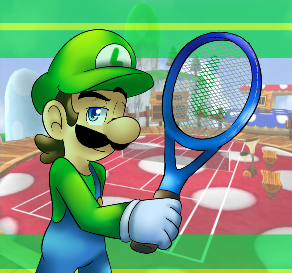 Mario Tennis by raygirl12
