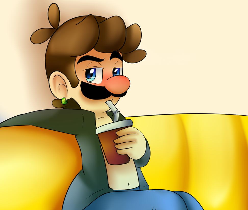 Sexy Luigi  by raygirl12