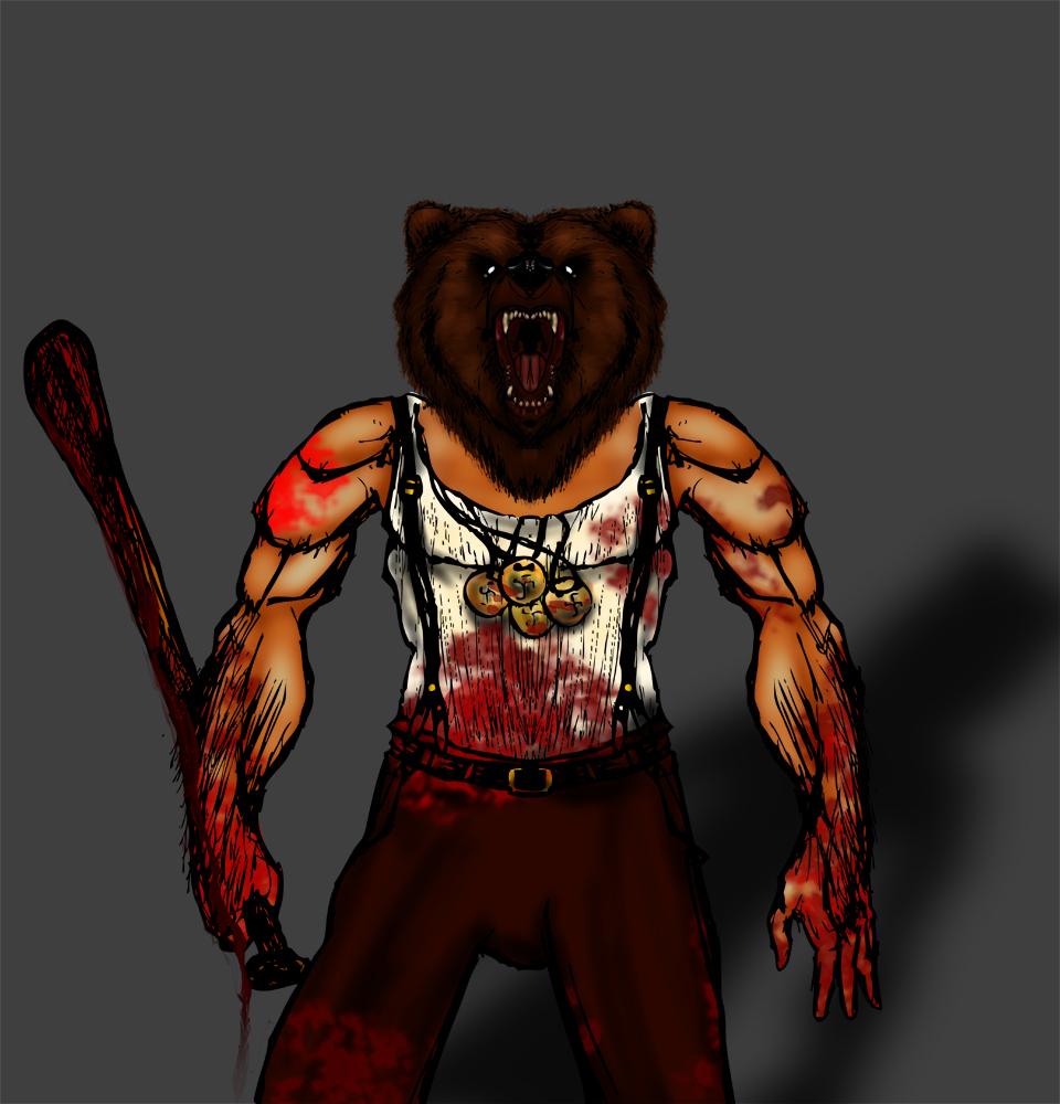 Bear Jew Art