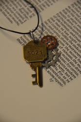 Small Steampunk Key by geekatheart