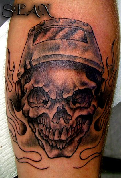 welder skull by seanspoison