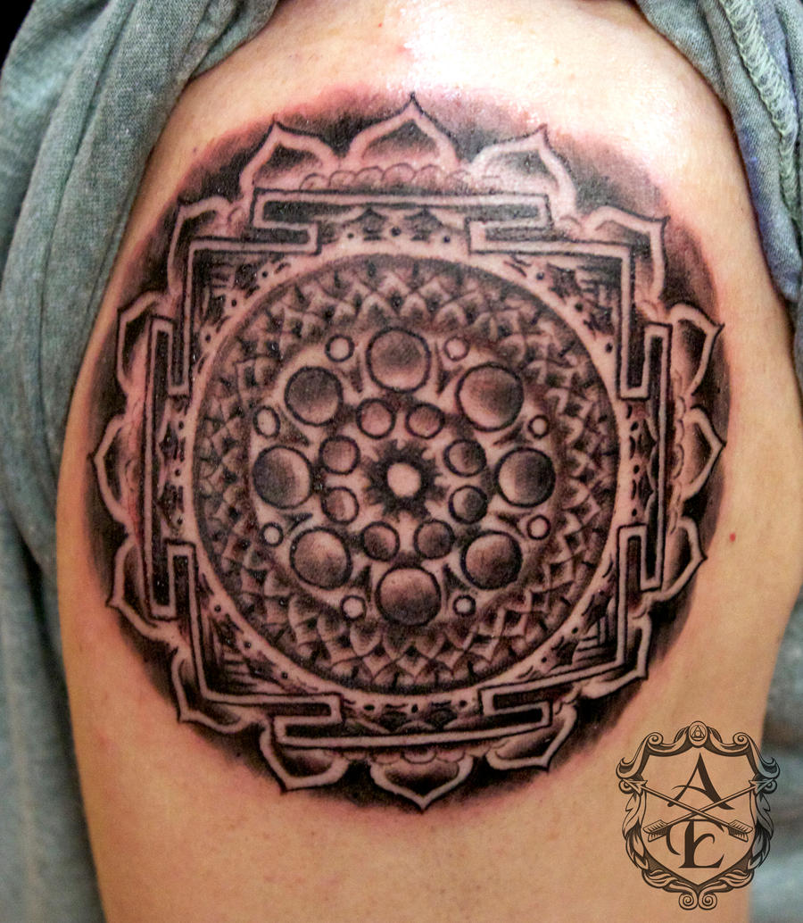 Mandala Tattoo done by Sean Ambrose by seanspoison