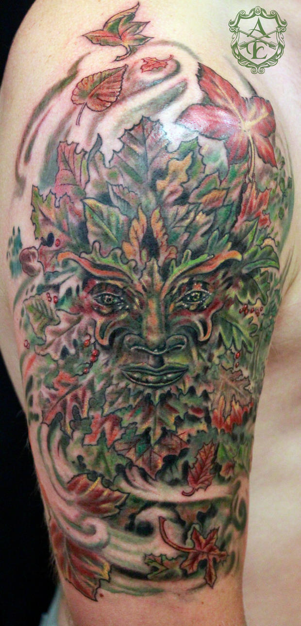 Treeman Tattoo done by Sean Ambrose by seanspoison