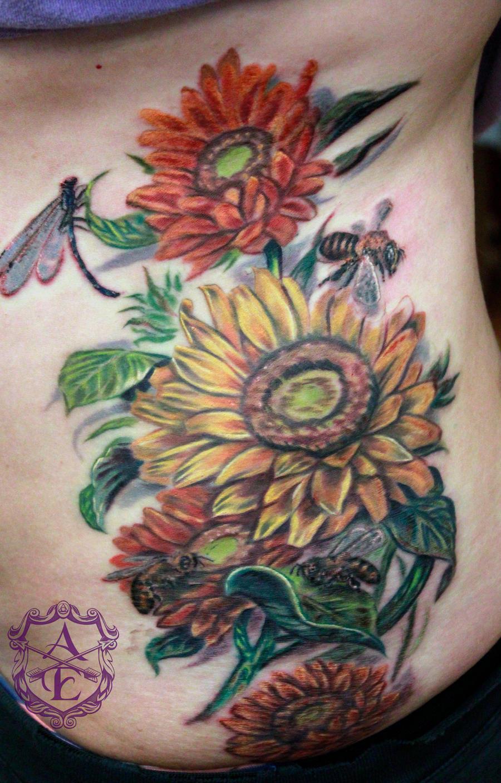 14 Stunning Sunflower Tattoos Tattoo Me Now