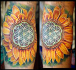 Sunflower:floweroflife