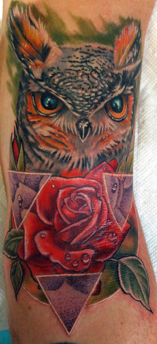 Owl King by Sean Ambrose at Arrows and Embers by seanspoison