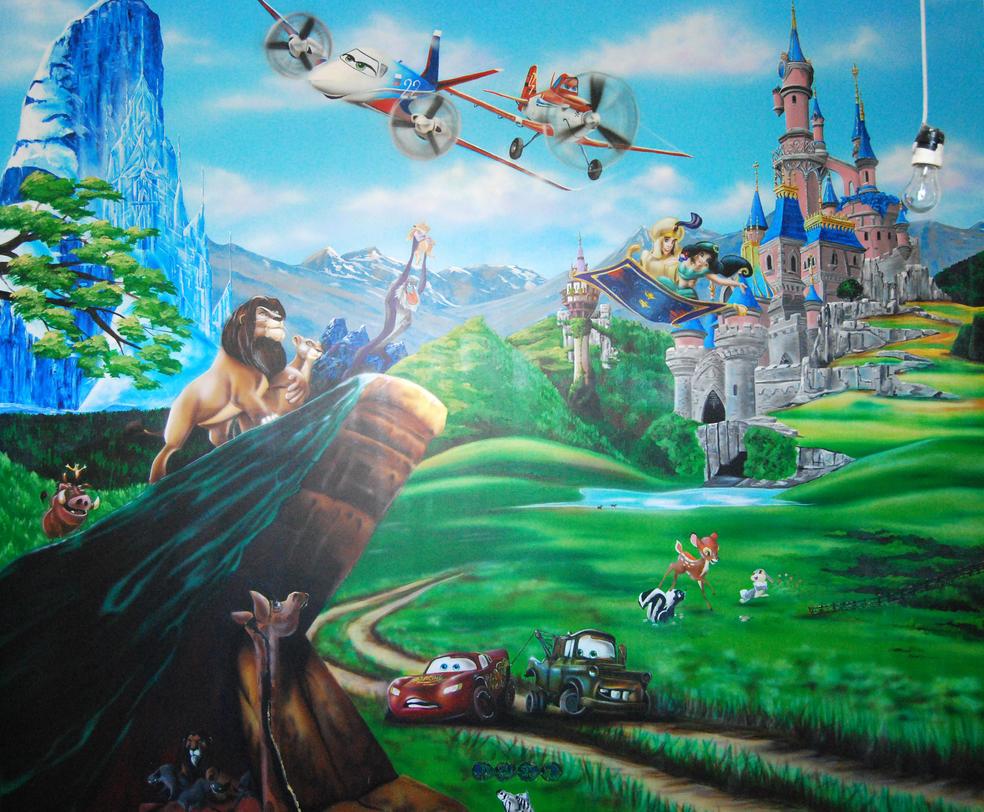Disney by chebot