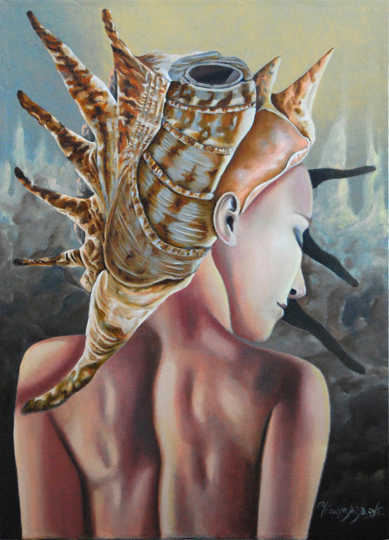 Hermit Brain by chebot