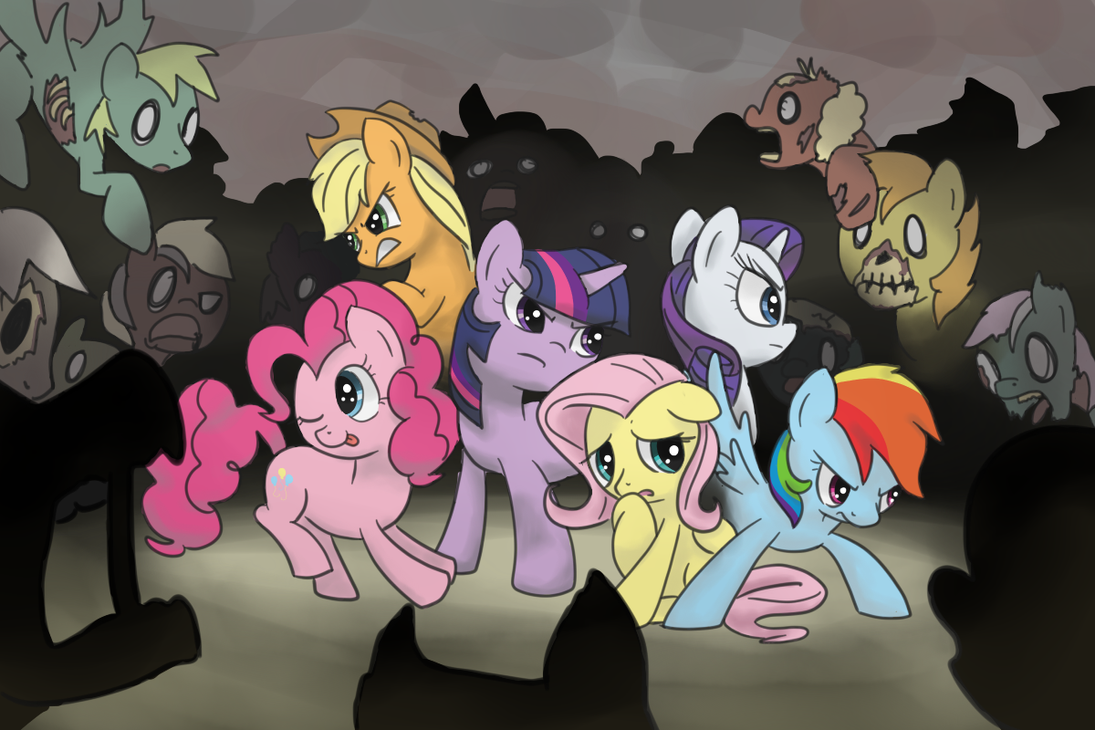 Friendship with the Living Dead by spicyhamsandwich