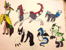 Point adopts and auctions by toxicfox100