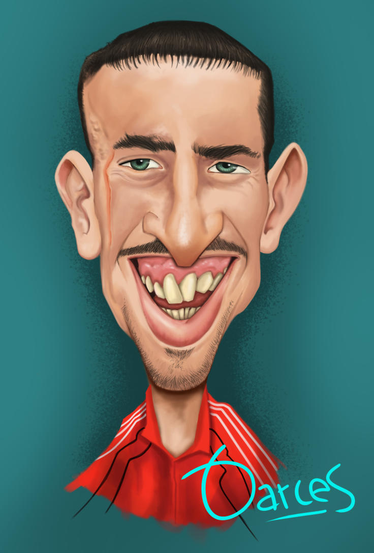 Franck Ribery by mousetro on DeviantArt