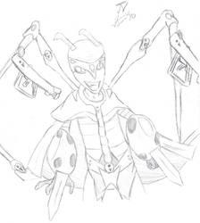 Epic Zim Sketch by JMNex