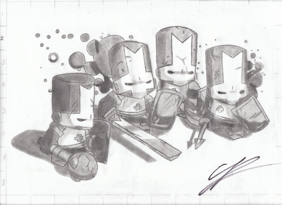 Castle Crashers by OpenCircle on DeviantArt
