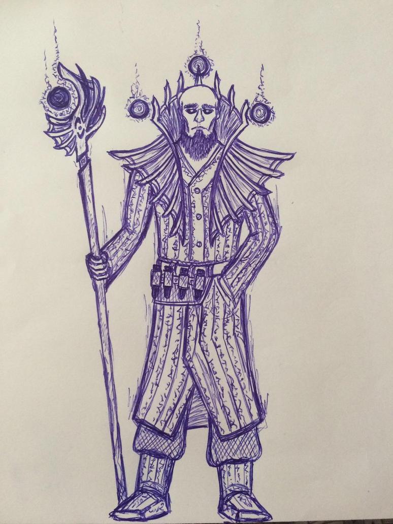 Wandering wizard by Buldocek