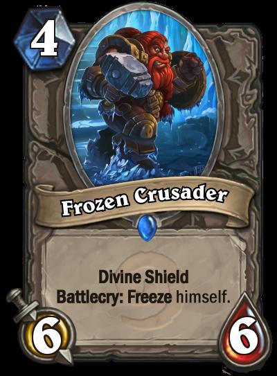 HS card: Frozen Crusader by Buldocek