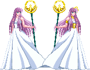 Saori Kido Kami no Athena by zahoriglez