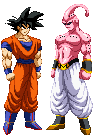 Goku Vs Buu by zahoriglez