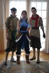 The Legend of Korra Cosplay - Team Photo 2