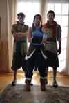 The Legend of Korra Cosplay - Team Photo 1