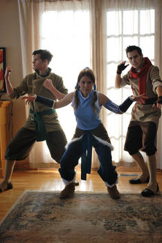 The Legend of Korra Cosplay - Team Photo 3