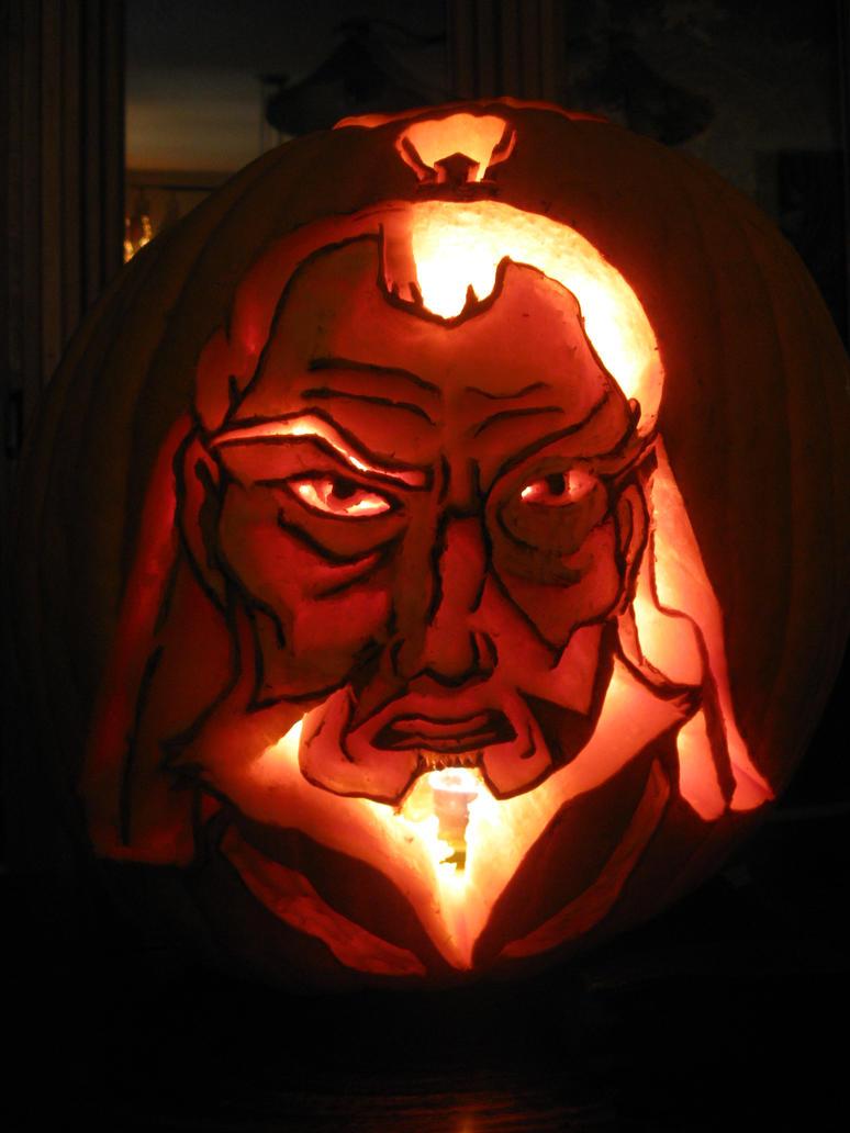 Zuko Pumpkin Carving by Confidenceman047