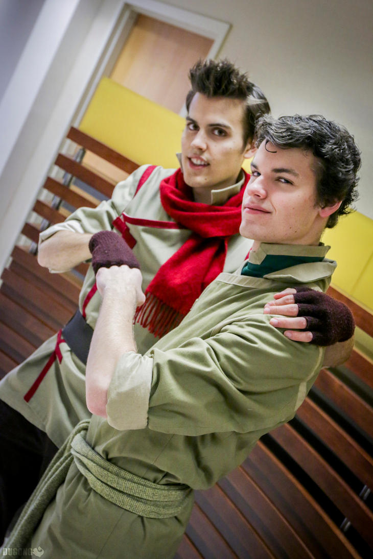 Mako and Bolin 3 by Dugong by Confidenceman047