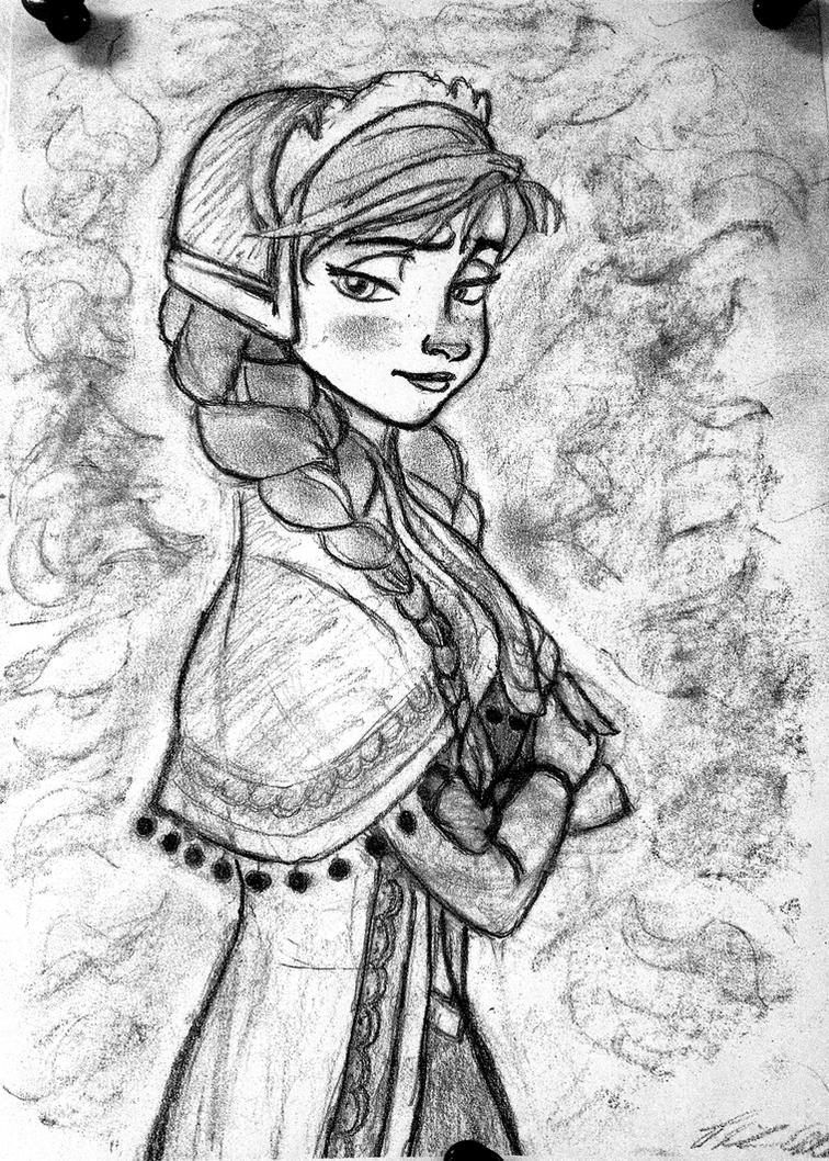 Anna Sketch by Confidenceman047
