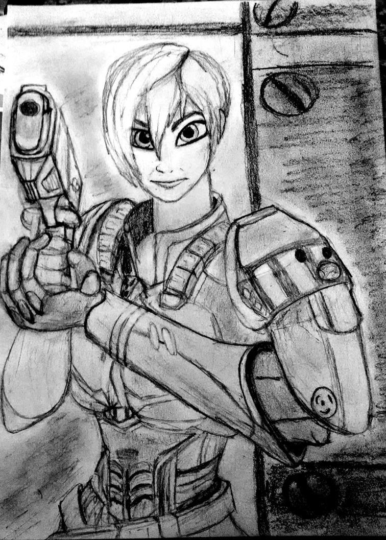 Calhoun Sketch by Confidenceman047