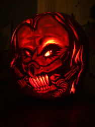 Immortan Joe Pumpkin Carving