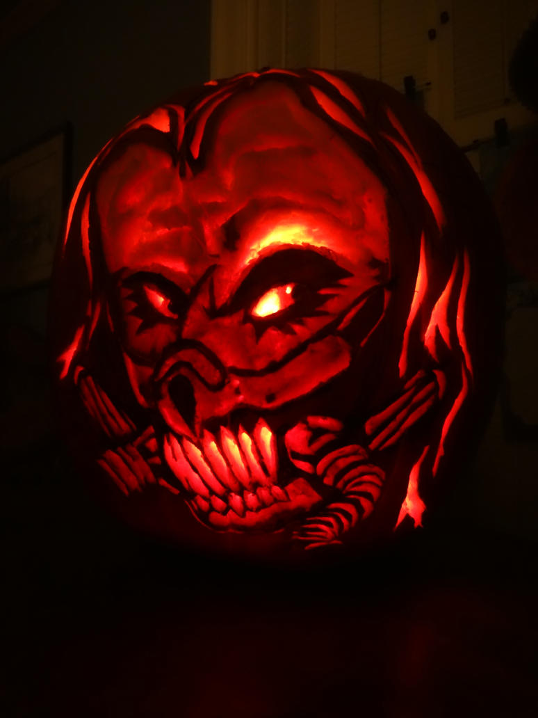 Immortan Joe Pumpkin Carving by Confidenceman047